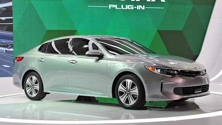The Kia Optima is now available as a plug-in hybrid