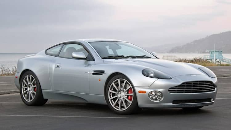 Channeling Bond in a 2005 Aston Martin Vanquish S