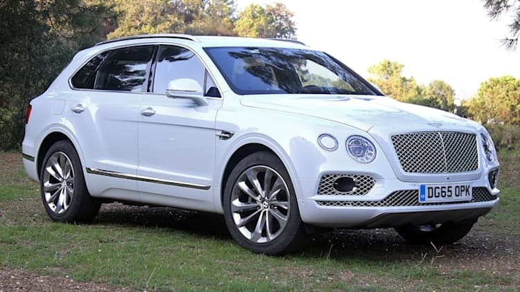 A diesel V8 is the perfect engine for the Bentley Bentayga