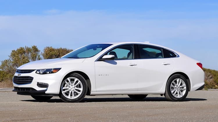 There's a bit of the Chevy Volt hidden in the Malibu Hybrid