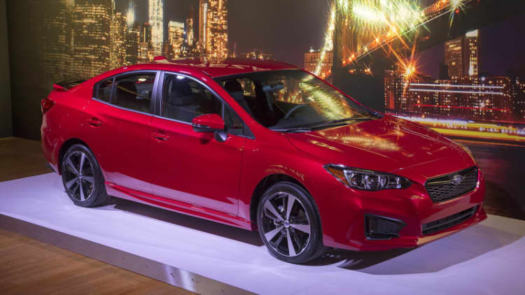 2017 Subaru Impreza marks debut of Subaru Global Platform