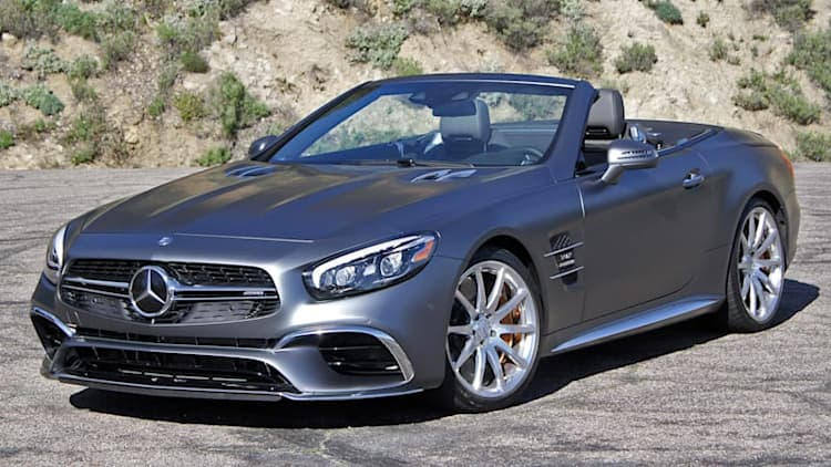 2017 Mercedes-AMG SL65 First Drive