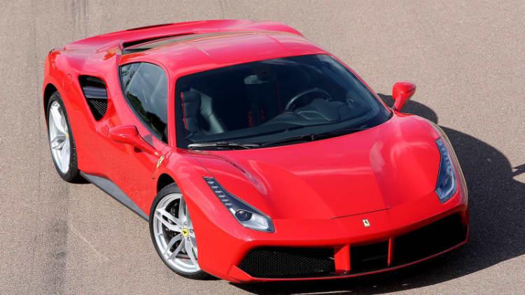 Ferrari issues stop-sale order on 488 GTB for fire risk