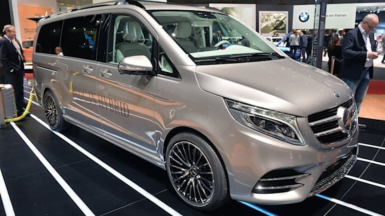 Mercedes-Benz V-ision e Concept ups the plug-in hybrid van game