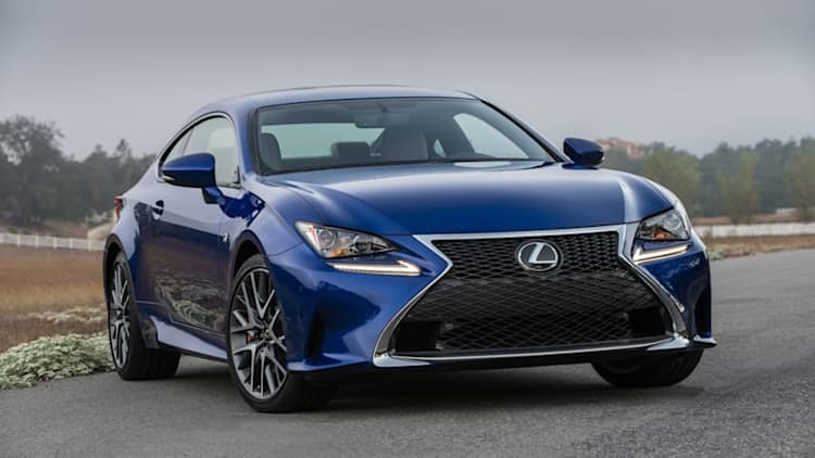 Lexus adds RC 200t, RC 300 AWD for 2016