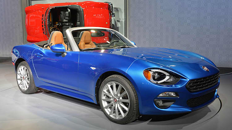 Fiat to return to rallying with 124 Spider?