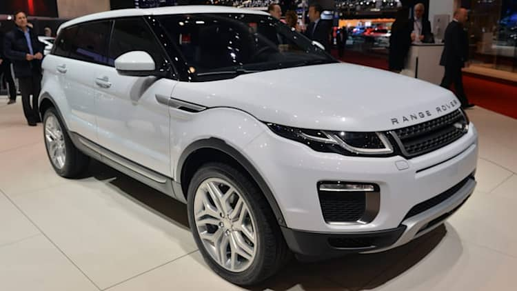 2016 Land Rover Range Rover Evoque is so fresh, so clean