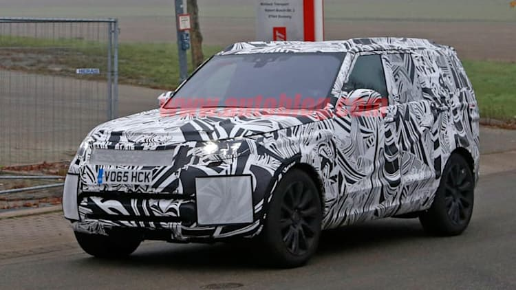 2017 Land Rover Disco rocks out on public roads
