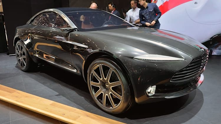 Aston Martin debuts electric, all-wheel-drive DBX concept