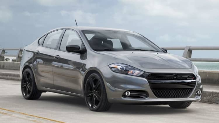 Dodge Dart pushed toward the grave with simplified lineup