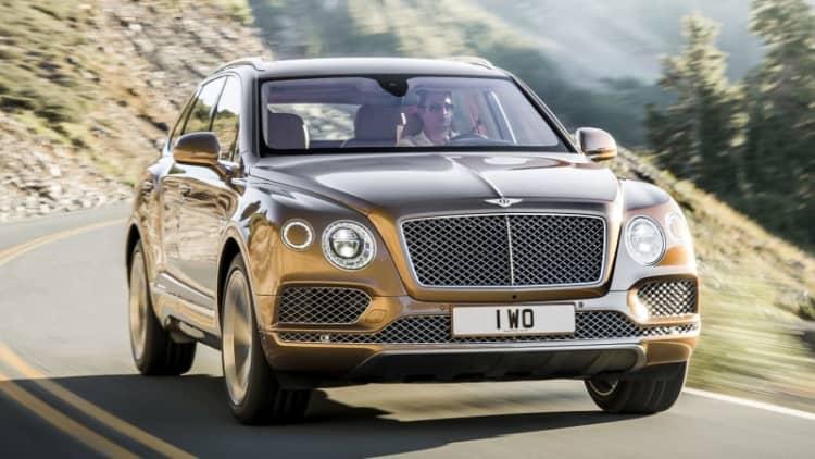 Bentley Bentayga may spawn sportier fastback version