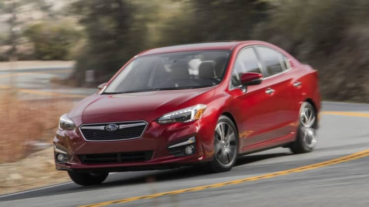 Just add power | 2017 Subaru Impreza First Drive