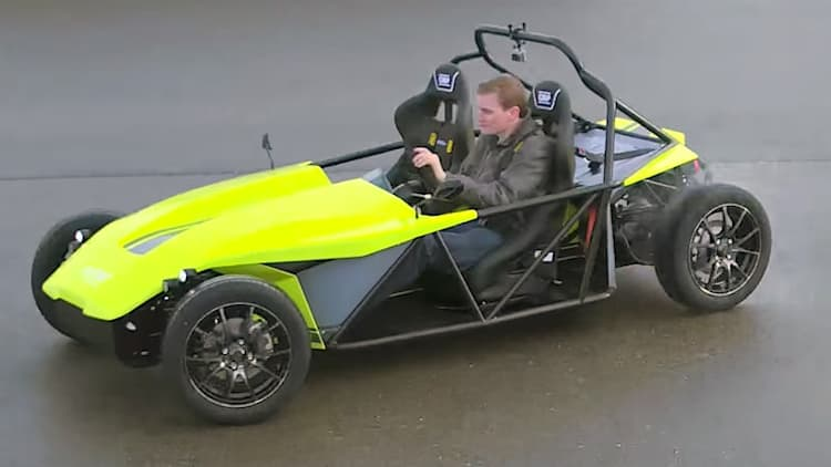 Kyburg eRod is a road-legal, all-electric adult go-kart