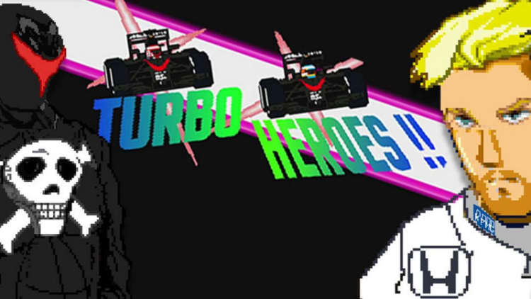 McLaren-Honda goes 8-bit in Turbo Heroes