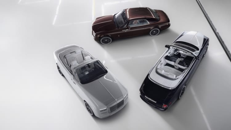 Rolls-Royce Phantom Zenith takes assembly line with it