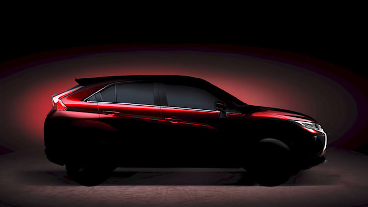 Mitsubishi teases new compact crossover that could be called Eclipse