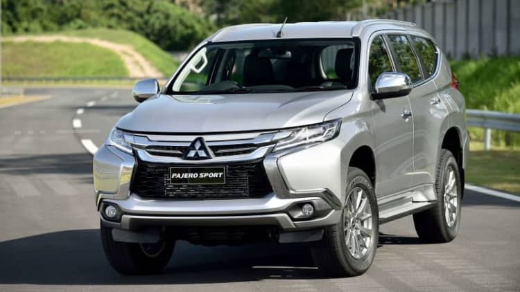 Mitsubishi rolls out new Pajero Sport in Thailand