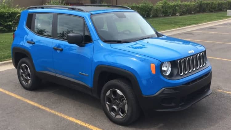 Daily Driver: 2015 Jeep Renegade Sport 4x4