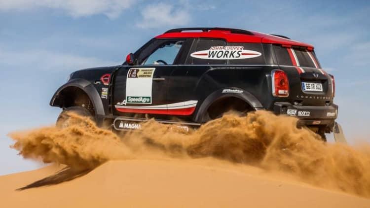 The Mini John Cooper Works Rally is set for Dakar