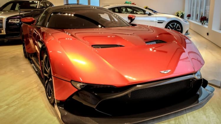 Get your Aston Martin Vulcan in Ohio for just $3.4 million