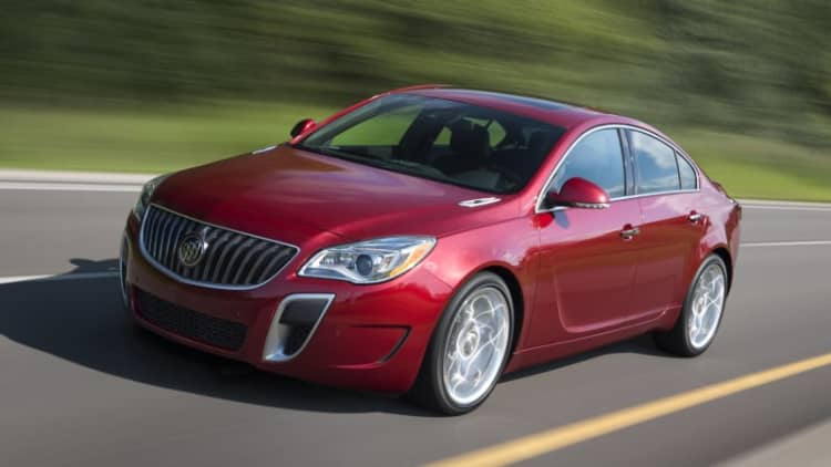 GM trademarks 'Sport Touring' for Buick Regal, LaCrosse