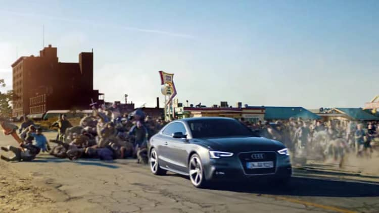 Audi imagines a world where mechanics are zombies