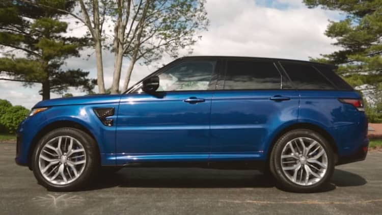 2015 Range Rover Sport SVR Video Review
