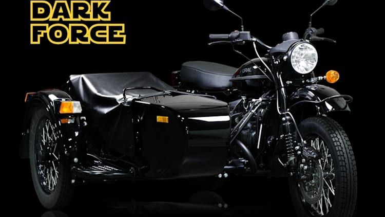 Ural Dark Force is the perfect motorcycle for Darth Vader