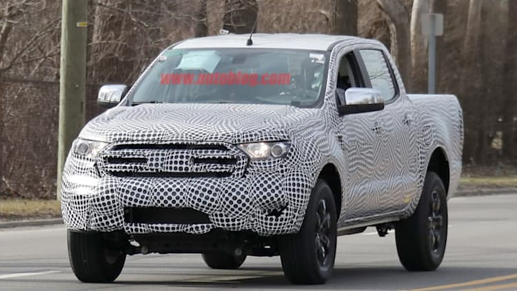 2019 Ford Ranger spied testing right here in America