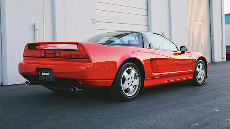 The original Acura NSX: Development history and driving the icon