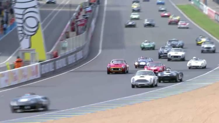 Watch four hours of fantastic machinery at Le Mans Classic 2016