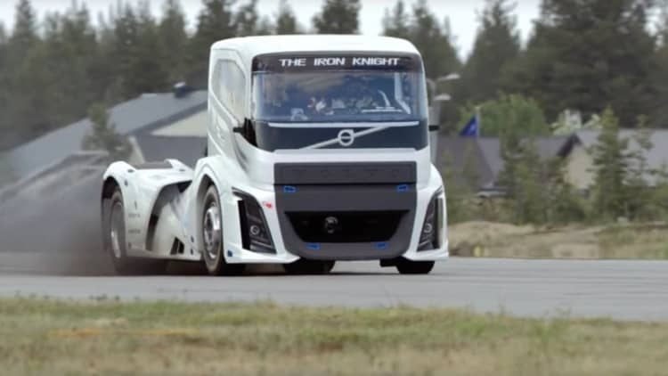 Volvo's 2,400-hp semi is the quickest truck in the world