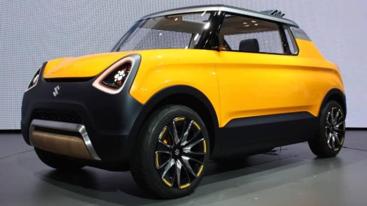 Suzuki shows weird, wonderful trio of concepts in Tokyo