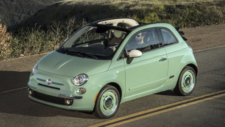 Fiat opens up vintage-style 1957 Edition to 500 Cabrio