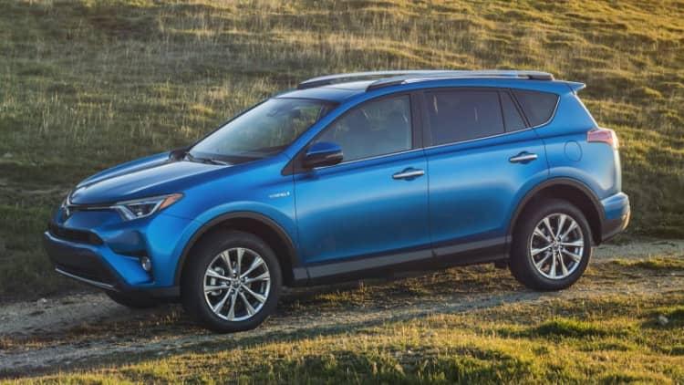 Toyota to expand RAV4 production to Cambridge