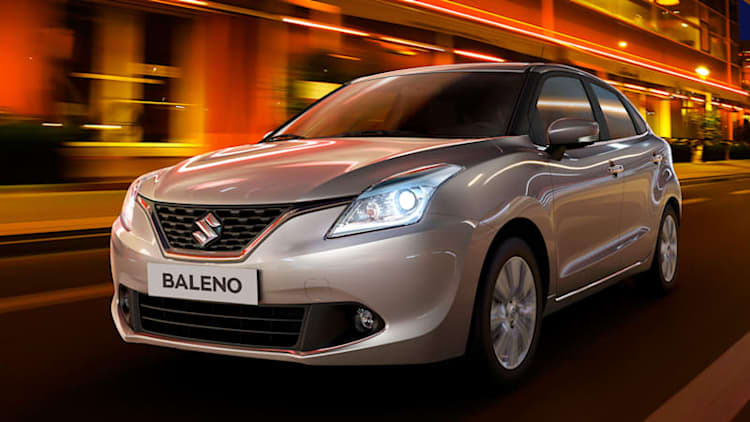 Suzuki releases another Baleno image for Frankfurt