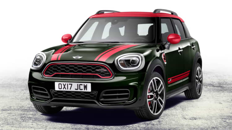 The 2018 Mini John Cooper Works Countryman ALL4 is a hot crossover