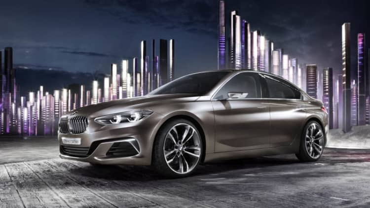 BMW reveals Concept Compact Sedan in Guangzhou