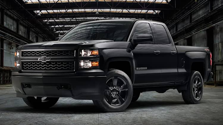 Chevy Silverado WT gets its own murdered-out trim pack