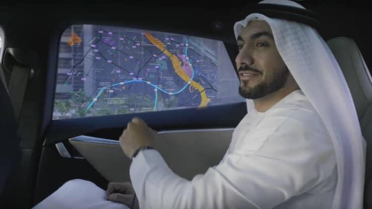 Dubai wants a quarter of car trips to be autonomous by 2030