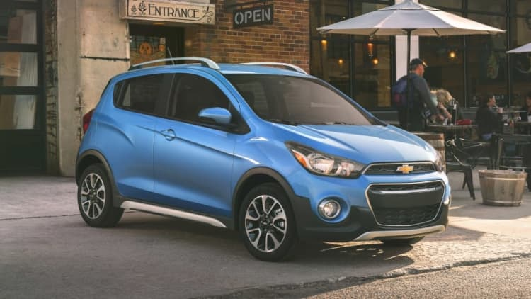 2017 Chevrolet Spark Activ is a really tiny crossover wannabe