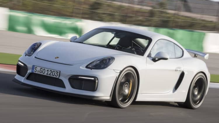 Porsche to reveal Cayman GT4 Clubsport racer in LA