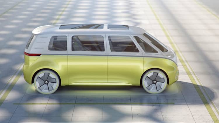 VW's surprising retro play, the BMW 5 Series is weird, and other design musings from Detroit