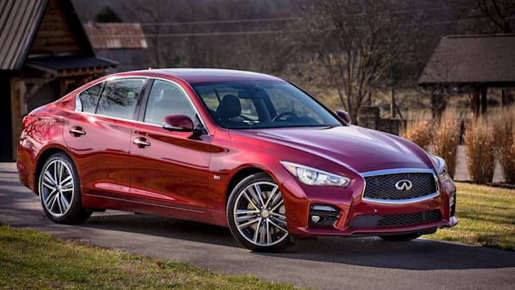 Infiniti Q50 sedan recalled over steering software glitch