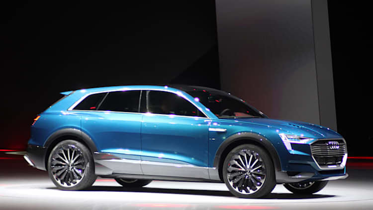 Will Audi's e-tron SUV's range match the Tesla Model X?