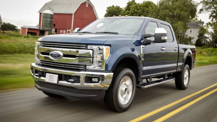 2017 Ford F-Series Super Duty is lighter and stronger