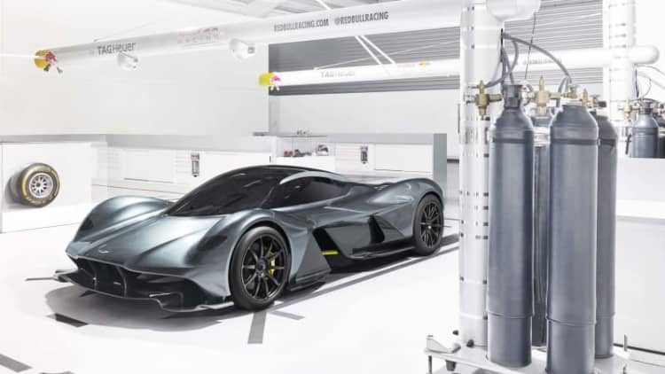 Aston Martin-Red Bull 001 details: 175 units, $3M, 0-200-0 in 15 seconds