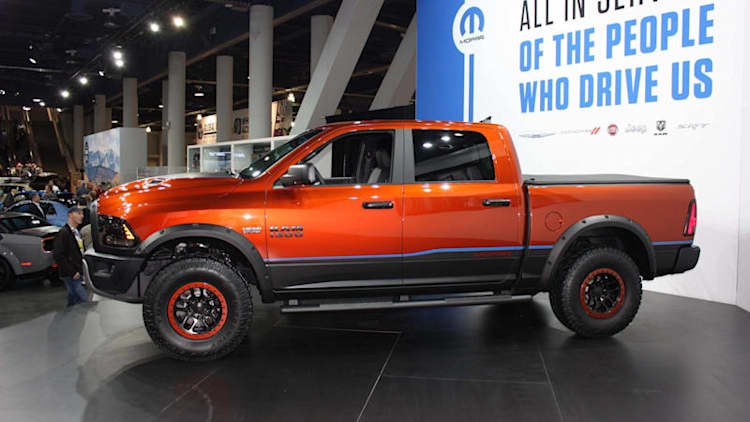 Ram Rebel X Concept wishes it could go offroad at SEMA [w/video]