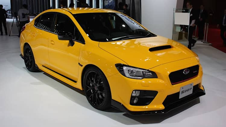 Subaru WRX STI S207 limited to 400 units in Japan only