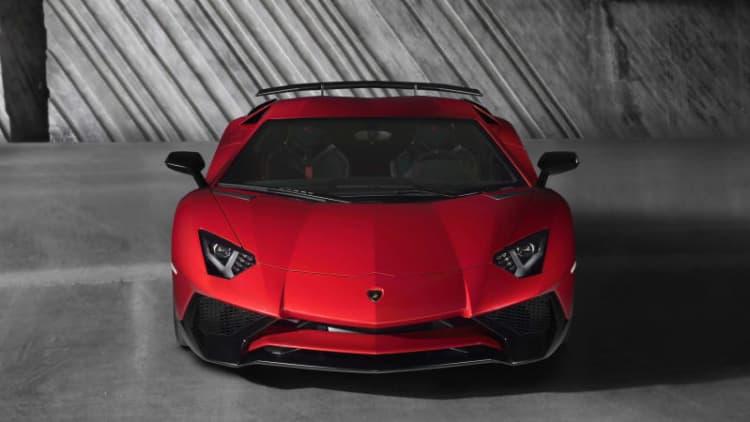 Lamborghini Aventador SV production limited to 600 units
